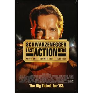 last-action-hero-advance-movie-poster-93-arnold-schwarzenegger