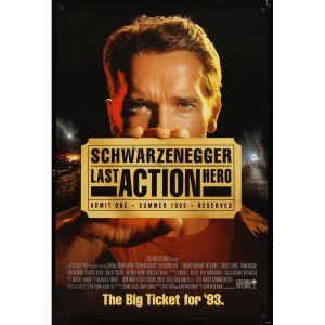 last-action-hero-advance-movie-poster-93-arnold-schwarzenegger
