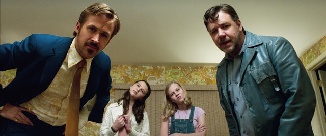 The Nice Guys - Official - Courtesy of © Warner Bros - © Daniel McFadden - Gosling Crowe Rice