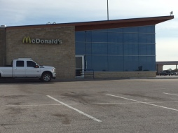 Nice looking McDonald's.