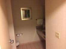 Bathroom was good.
