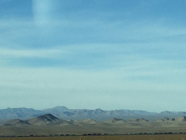Terrible framing, but those mountains!!
