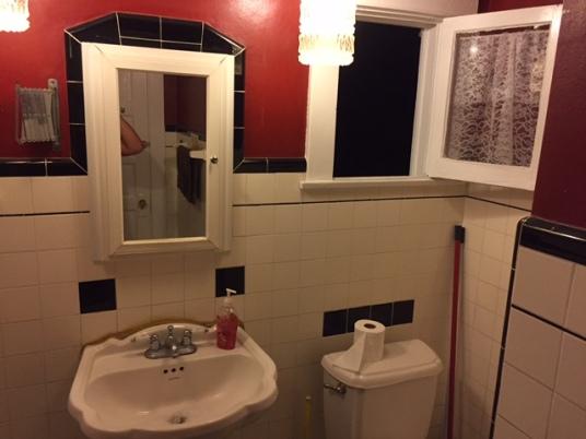 Bathroom's cool.