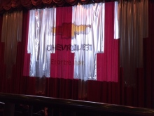 They closed the curtain by accident.
