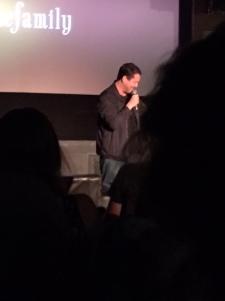 Doug Benson introducing the Benson Interruption