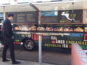 Food Truck at the editing job.