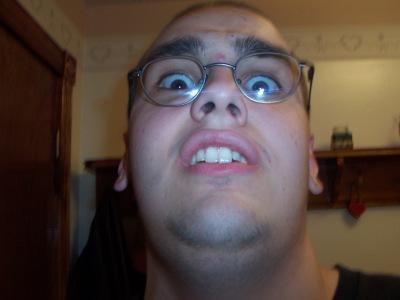 The face of eeeeevil.