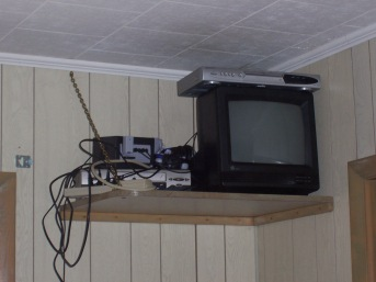 Gamecube was the first thing set up.
