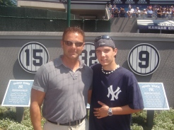 Rod and Kyle at the Memorial