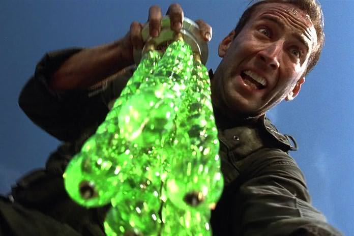 Nic Cage in Flubber